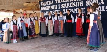 Smotra tradicijske baštine osnovnih i srednjih škola Zadarske županije