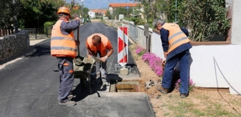 Popis svih ulica za postavljanje javne rasvjete i asfaltiranje te vodovodnu i kanalizacijsku mrežu otoka vira u 2017. godini