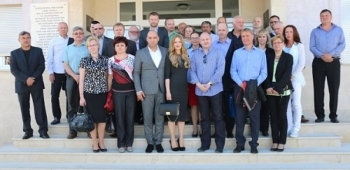 Delegacija Južnomoravske regije boravila na otoku Viru